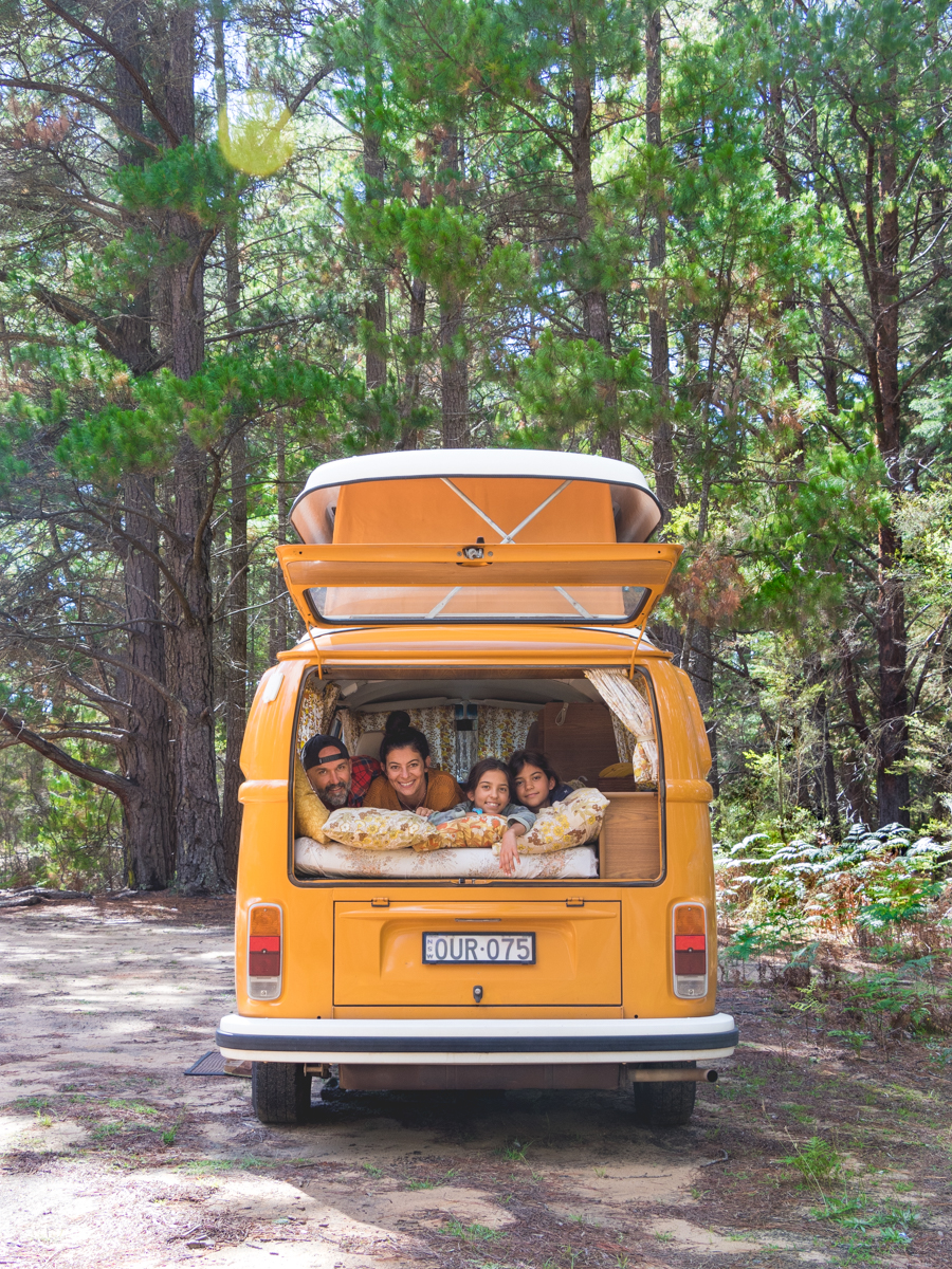 This Kombi is the perfect family vehicle.