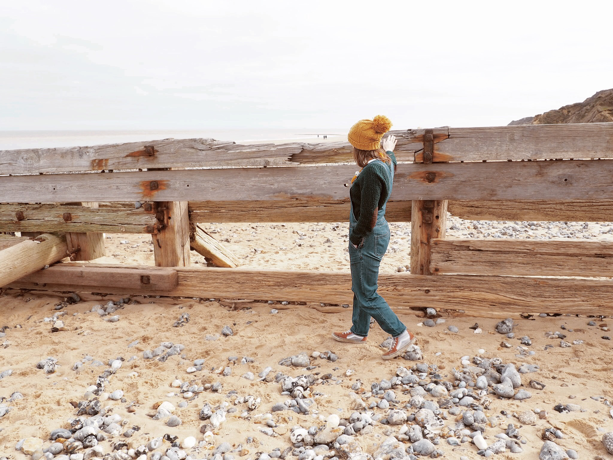 The beaten sea defenses
