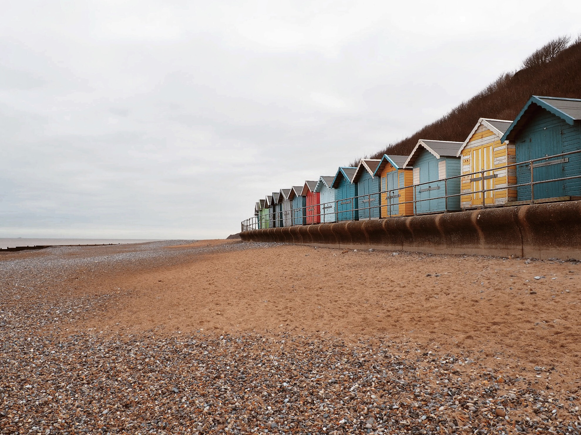 Cromer's famous beach huts