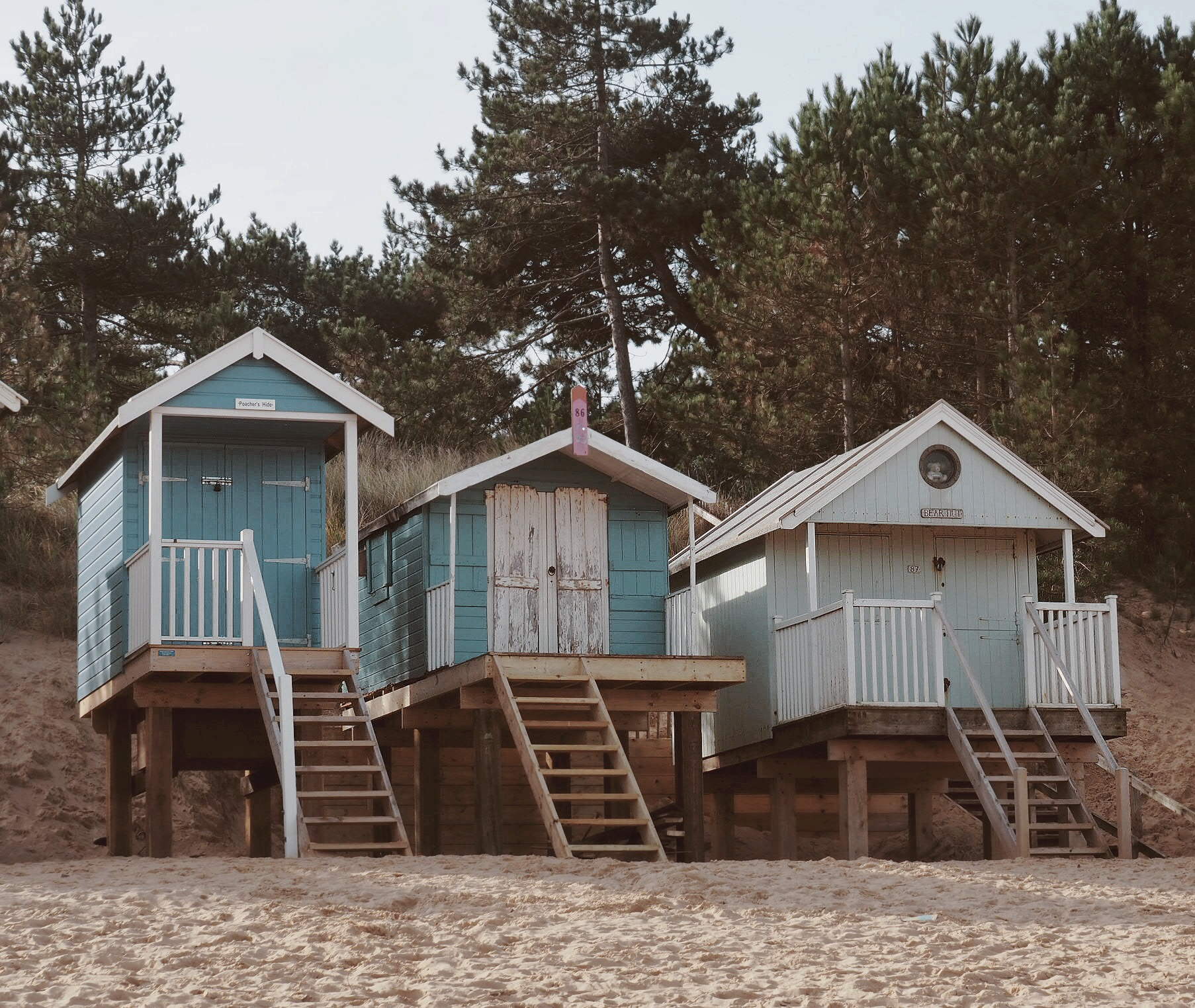 More of those perfect huts!
