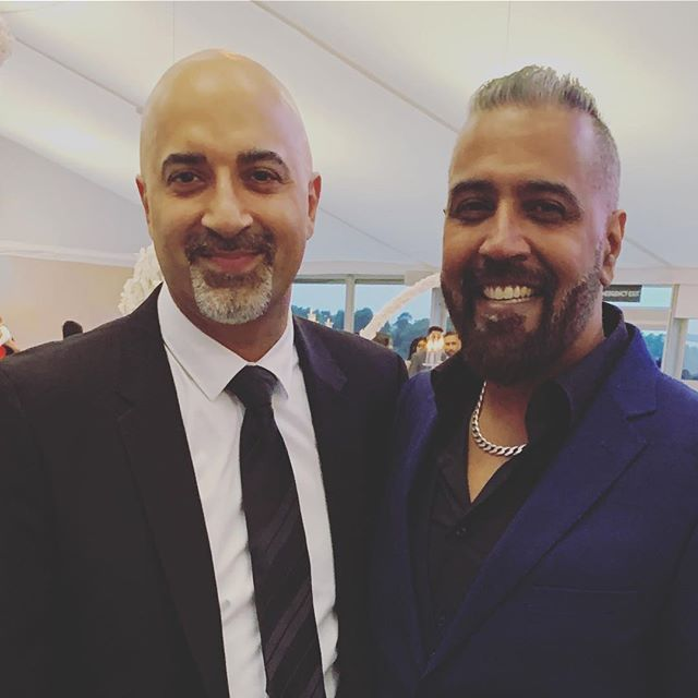 Great seeing my man Sunny from @bbc radio's @sunnyandshay - Sunny and his wife Shay are major radio figures in the UK and continue to do great work on the mainstream stage!