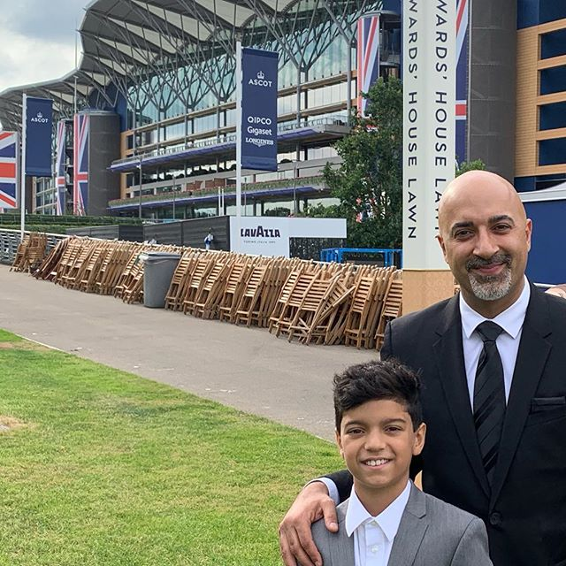 Thank you England. My Son and I had the times of our lives. Such a special memory!