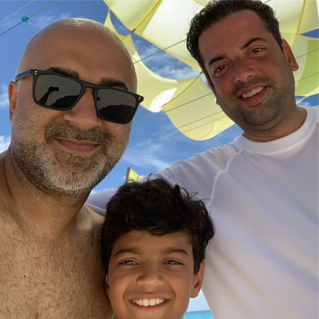 Boys on the beach day.