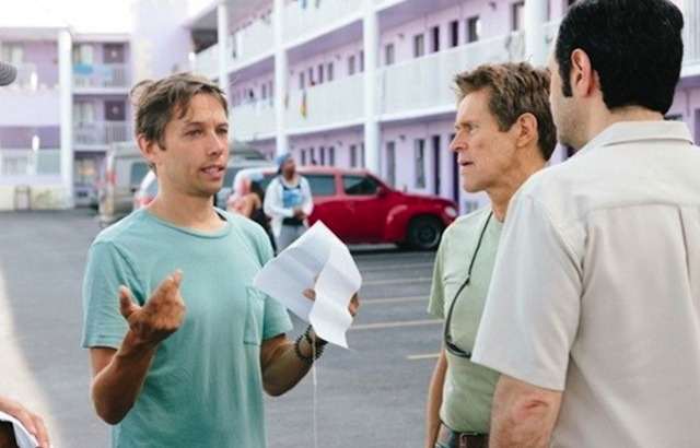 Sean Baker am Set von The Florida Project