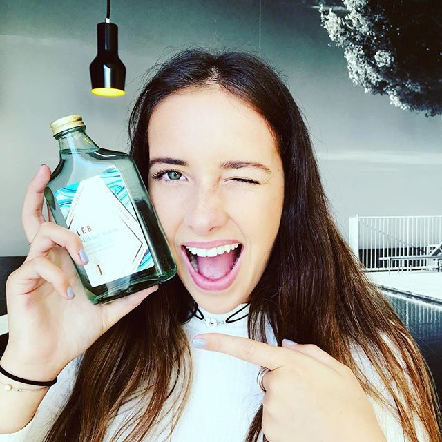 """🔜 """"For the planet, for the people, for every living thing, and yes, also for me. MAKING WAVES, the Organic Mouthwash by LEBON, is the one """"  Charline 💦 🍃 💦"""