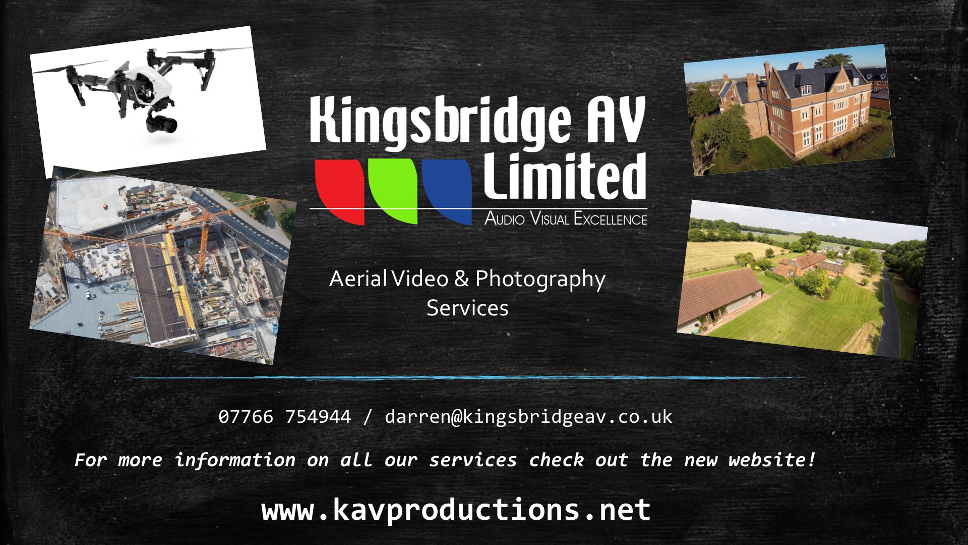aerial video newbury