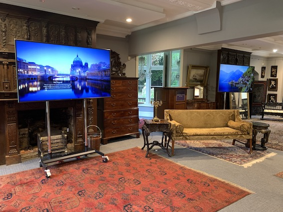Large screen hire London