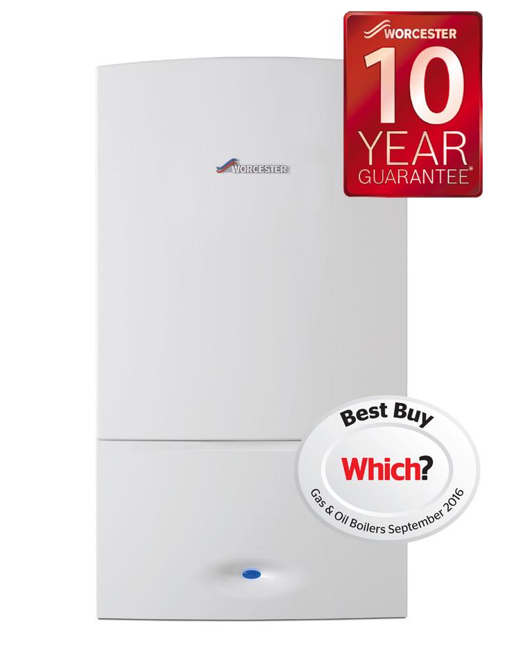 Worcester Greenstar 25i Combi Boiler 10 year guarantee