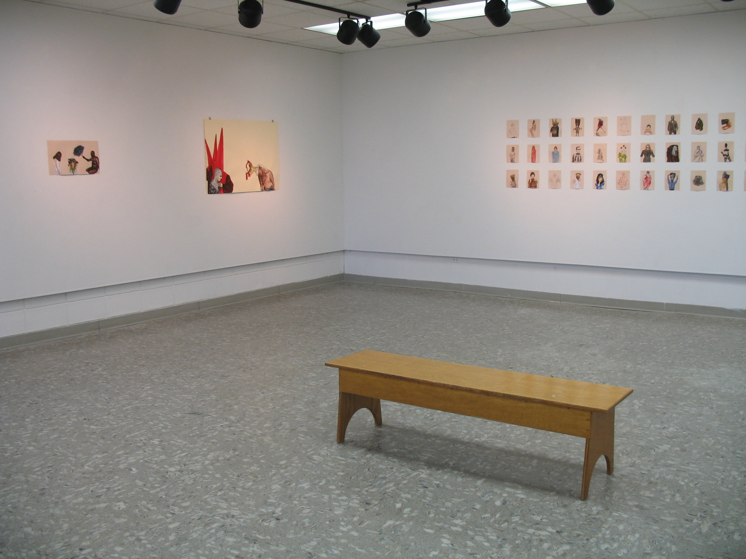 Solo exhibition, Nichols State University, Thibodeaux, LA 2011