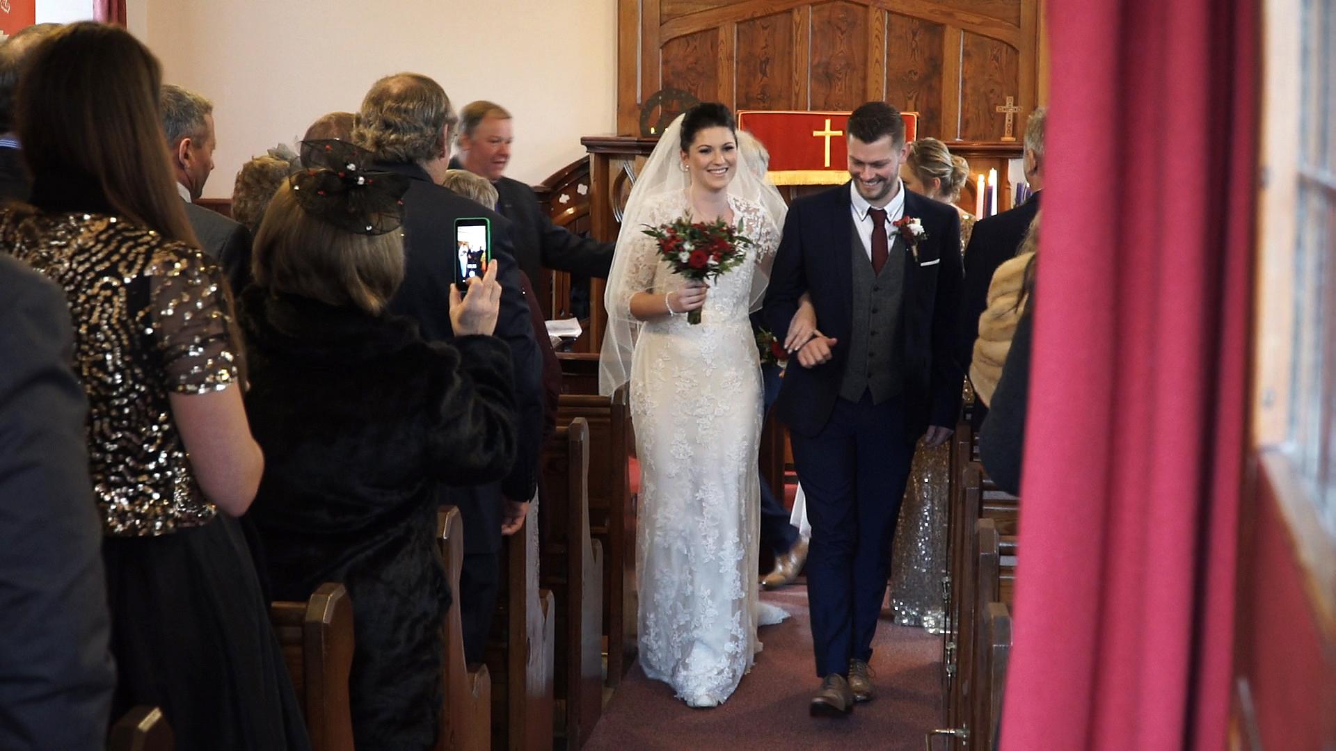 Orton Church wedding