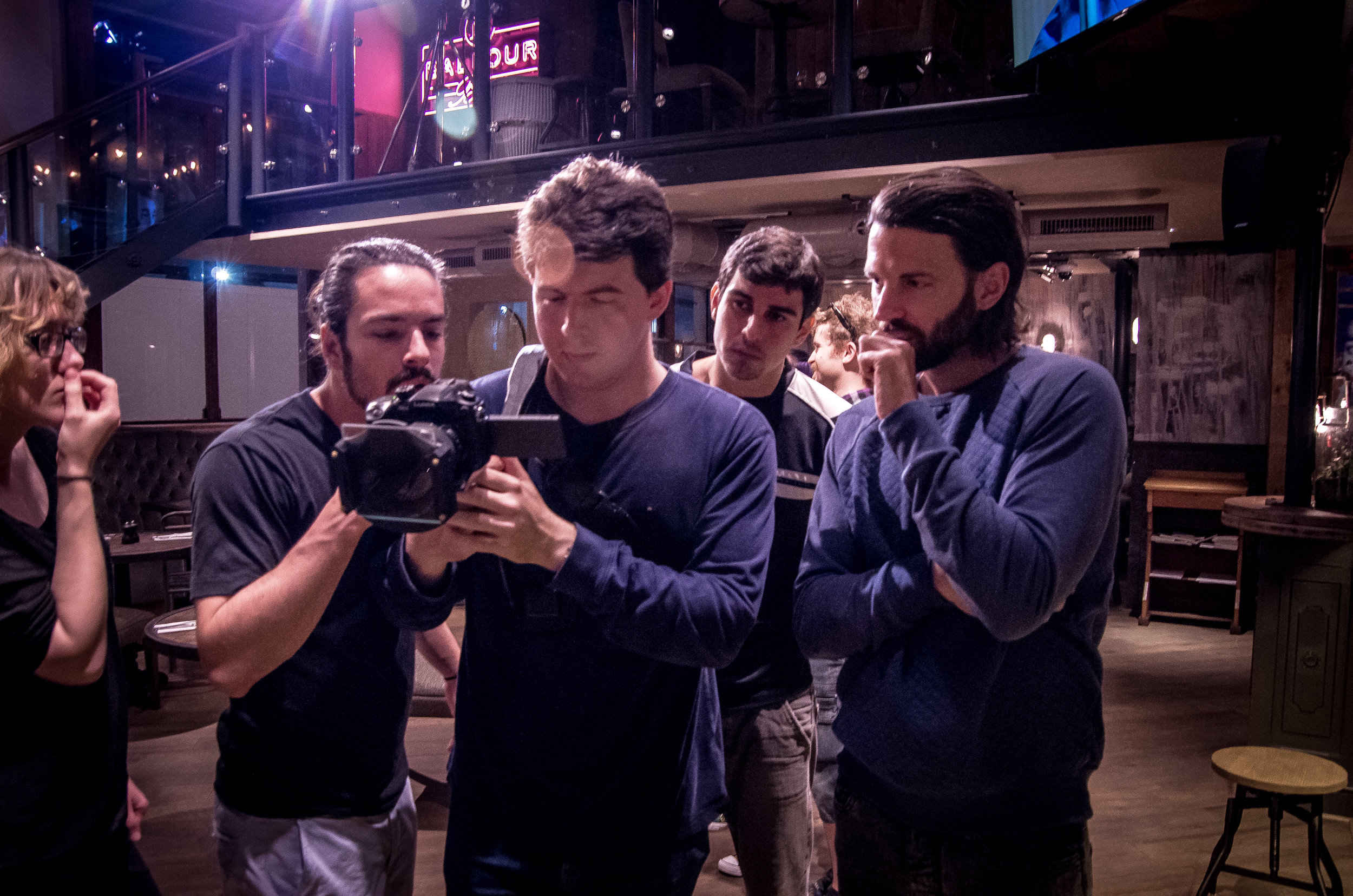 On the set of 'ShipShape'. Dir Jake Balfour-Lynn