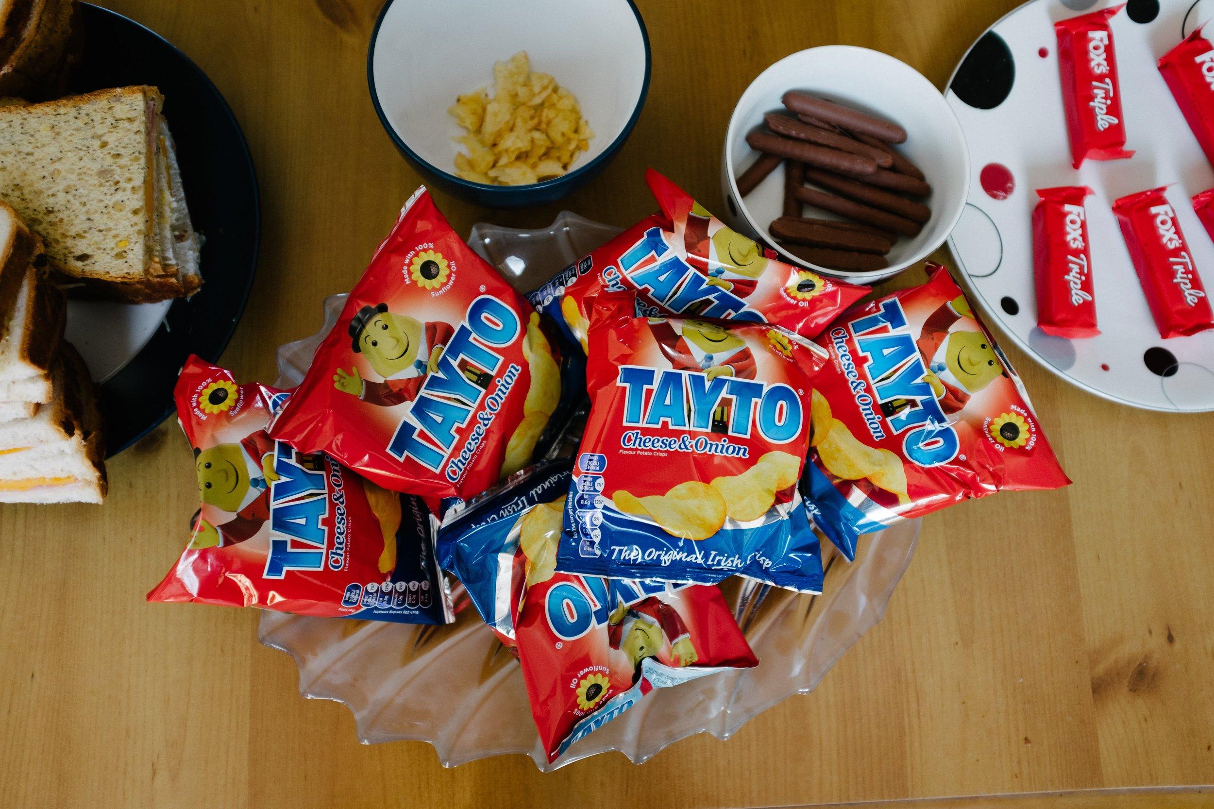 Tayto Crisps and Irish Snacks