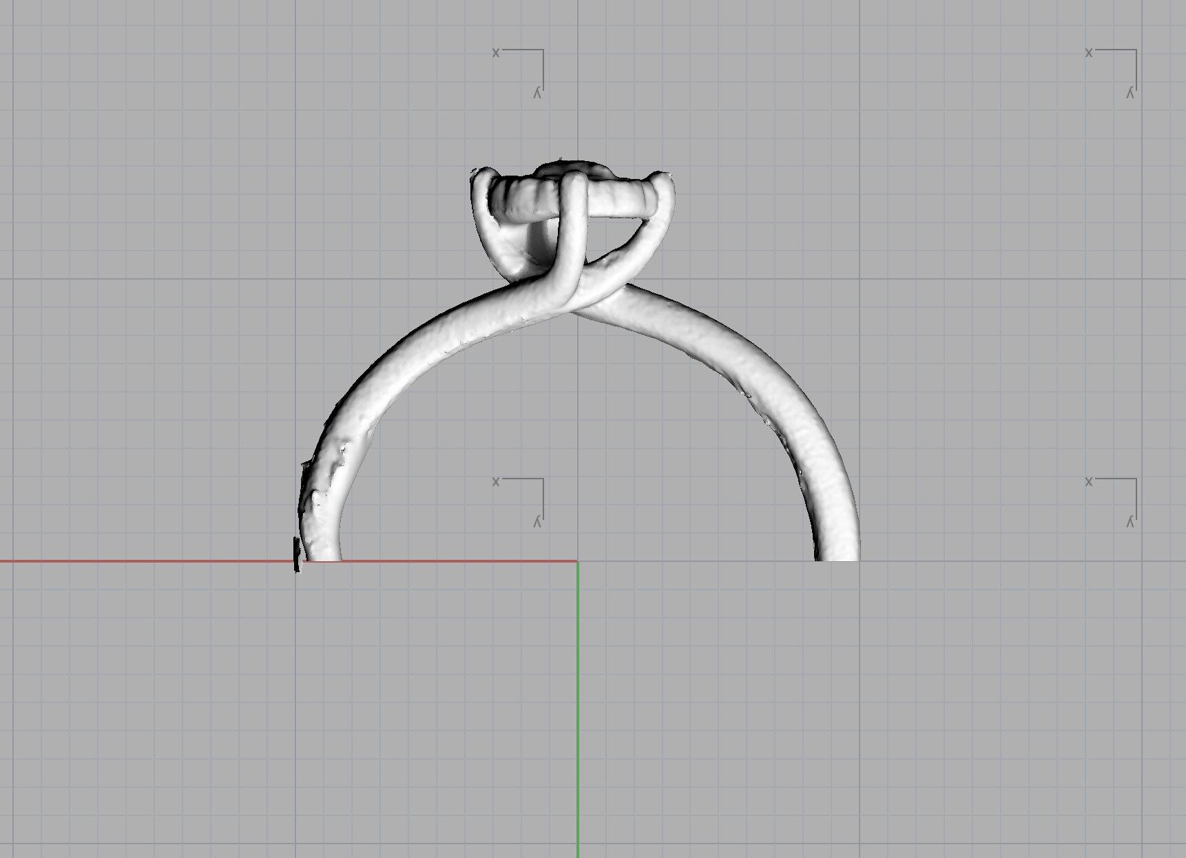 3D Scan of Karen's Engagement Ring