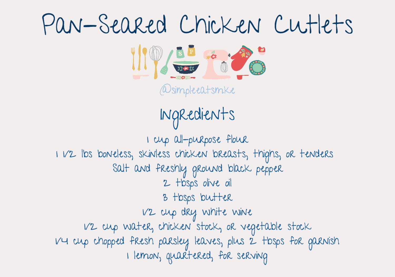 Pan Seared Chicken Cutlets Ingredients.jpg