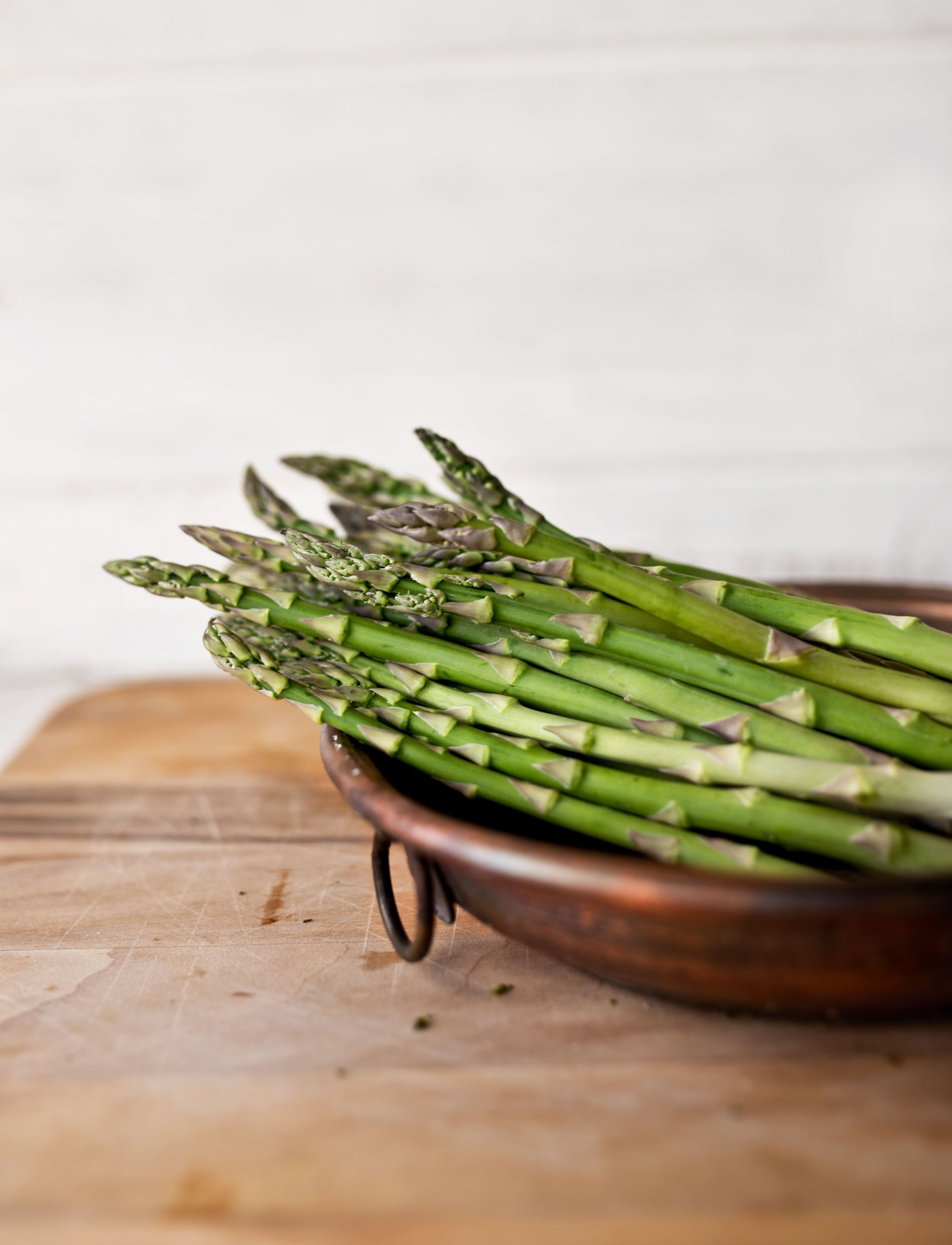 Asparagus is a natural diuretic and helps flush toxins. -