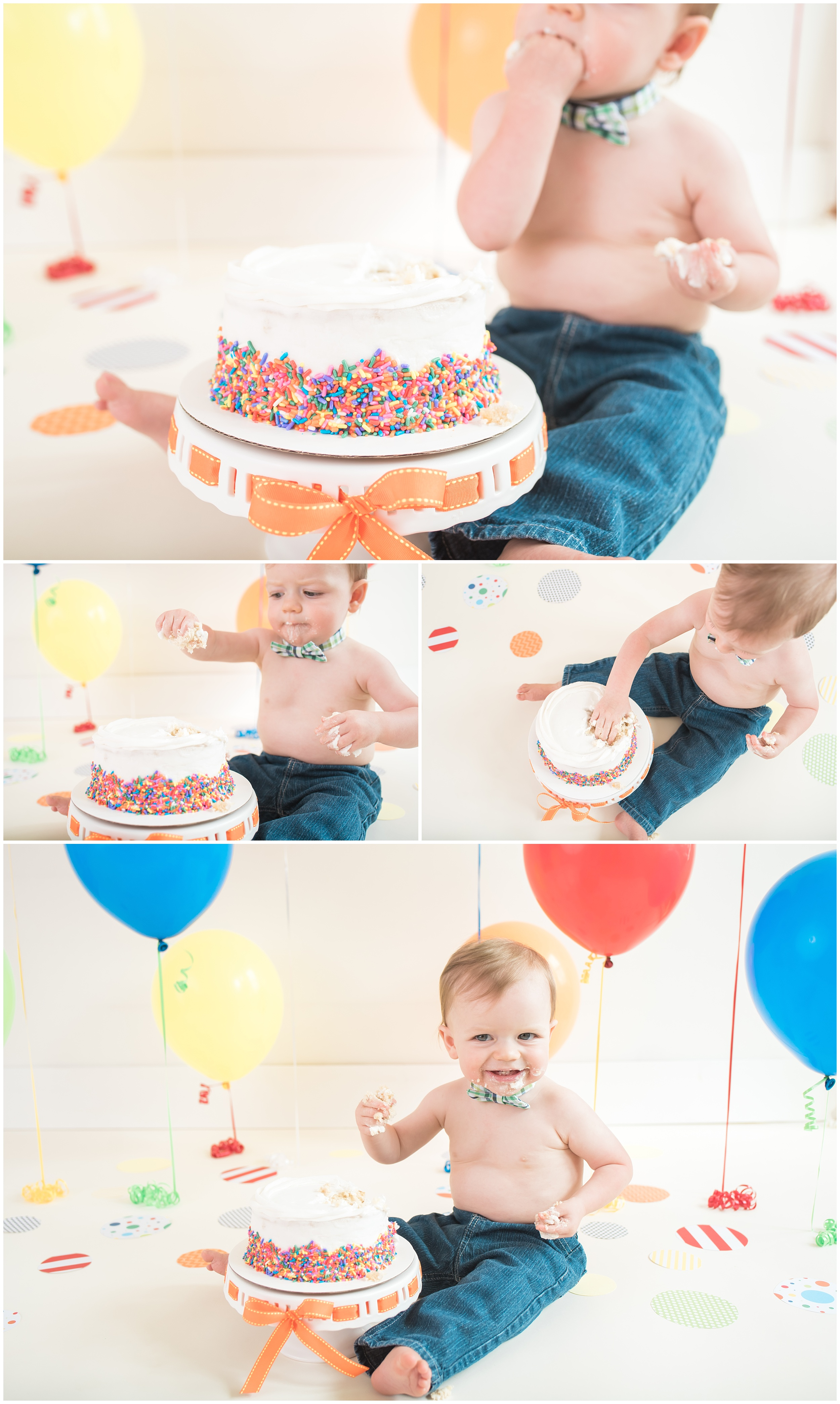 Greenville Cake Smash Photographer