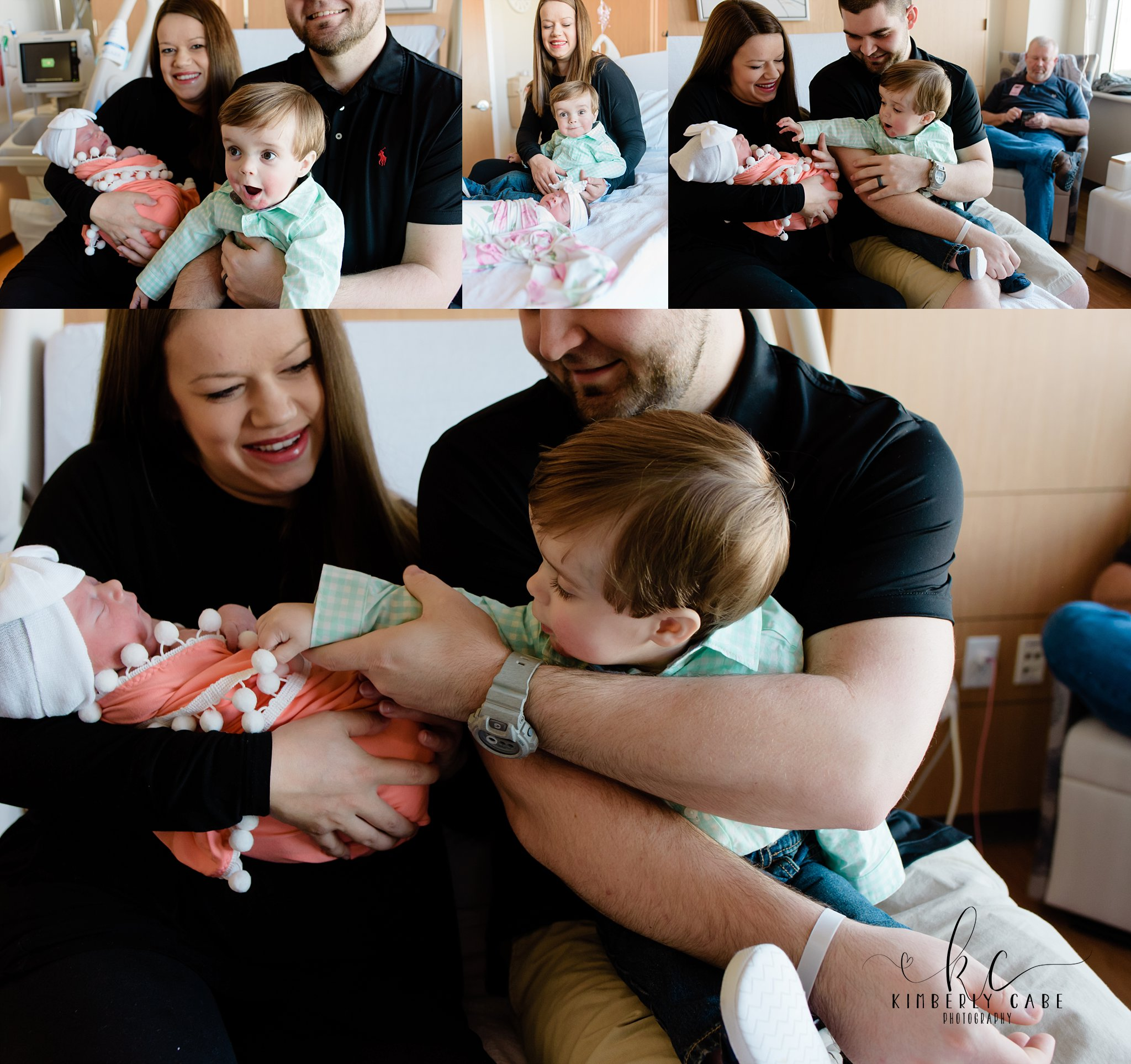 South Carolina Fresh 48 hospital newborn session