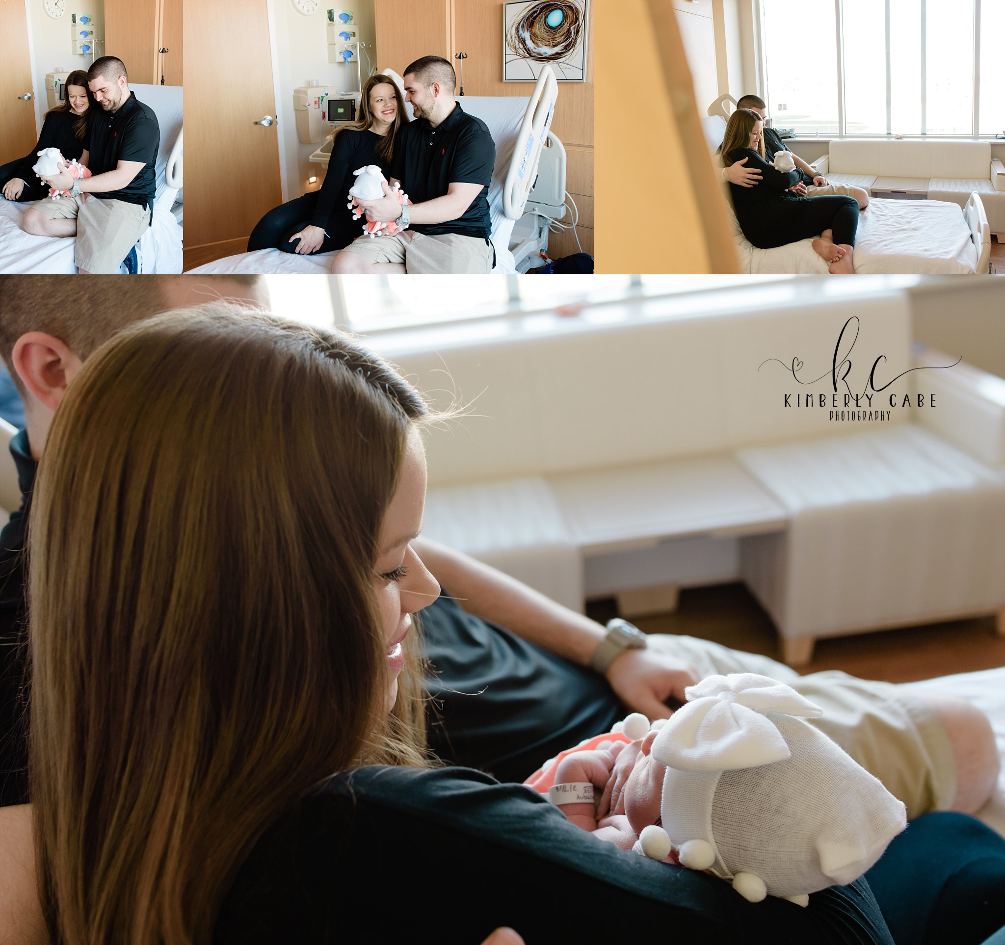 Greenville hospital newborn session