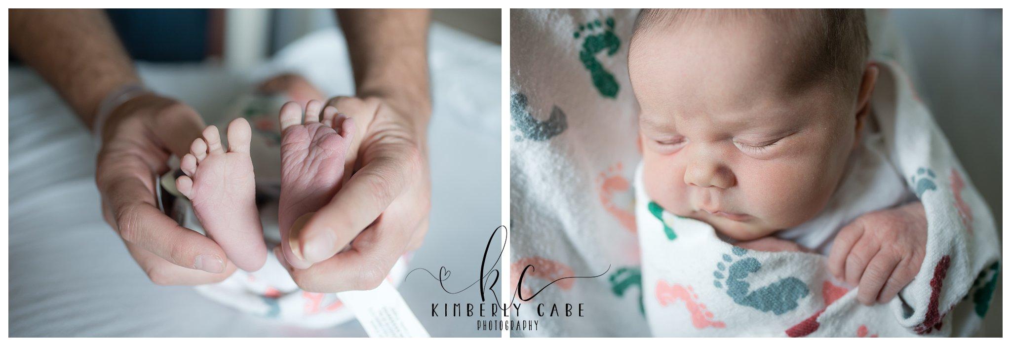 Greenville South Carolina hospital newborn session
