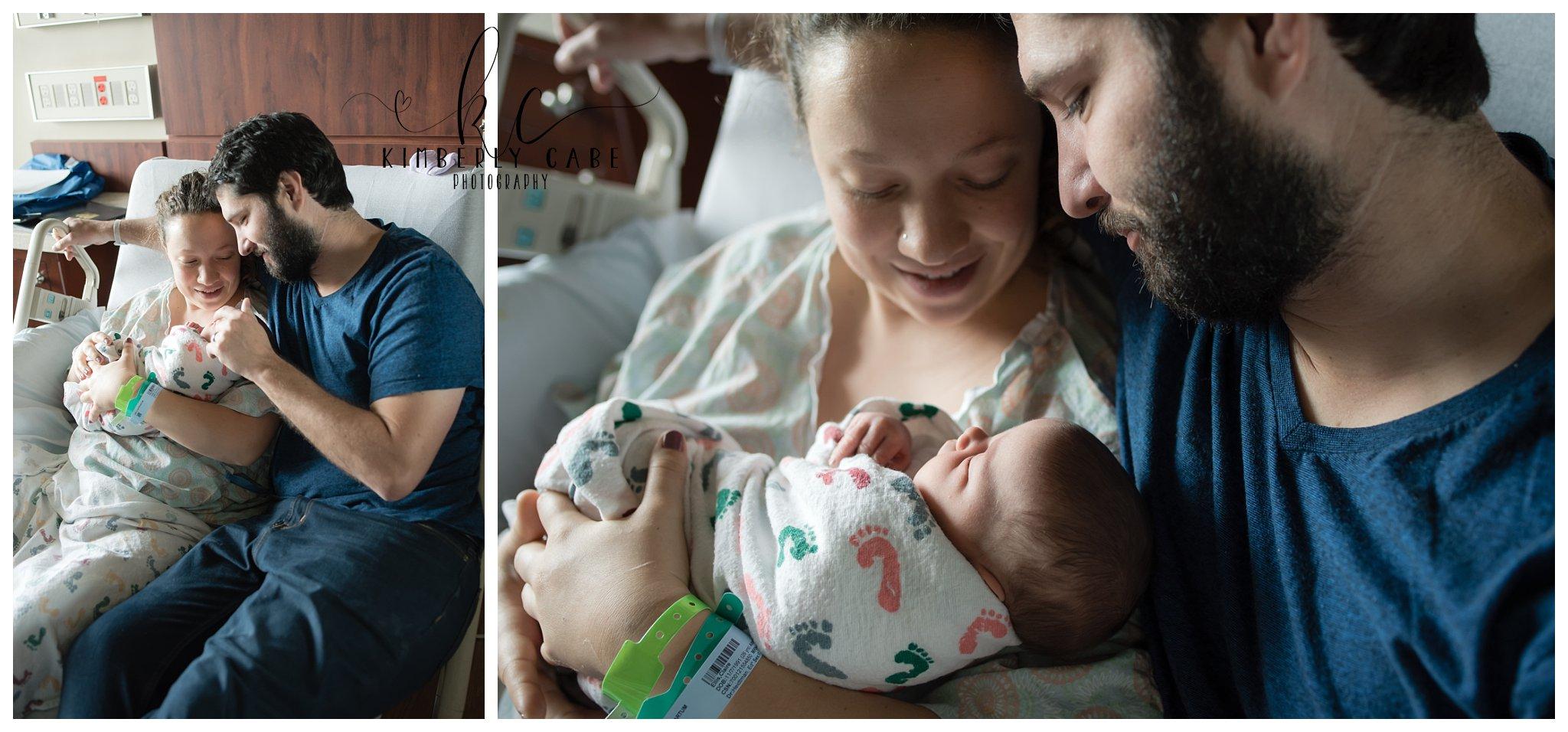 SC hospital newborn session
