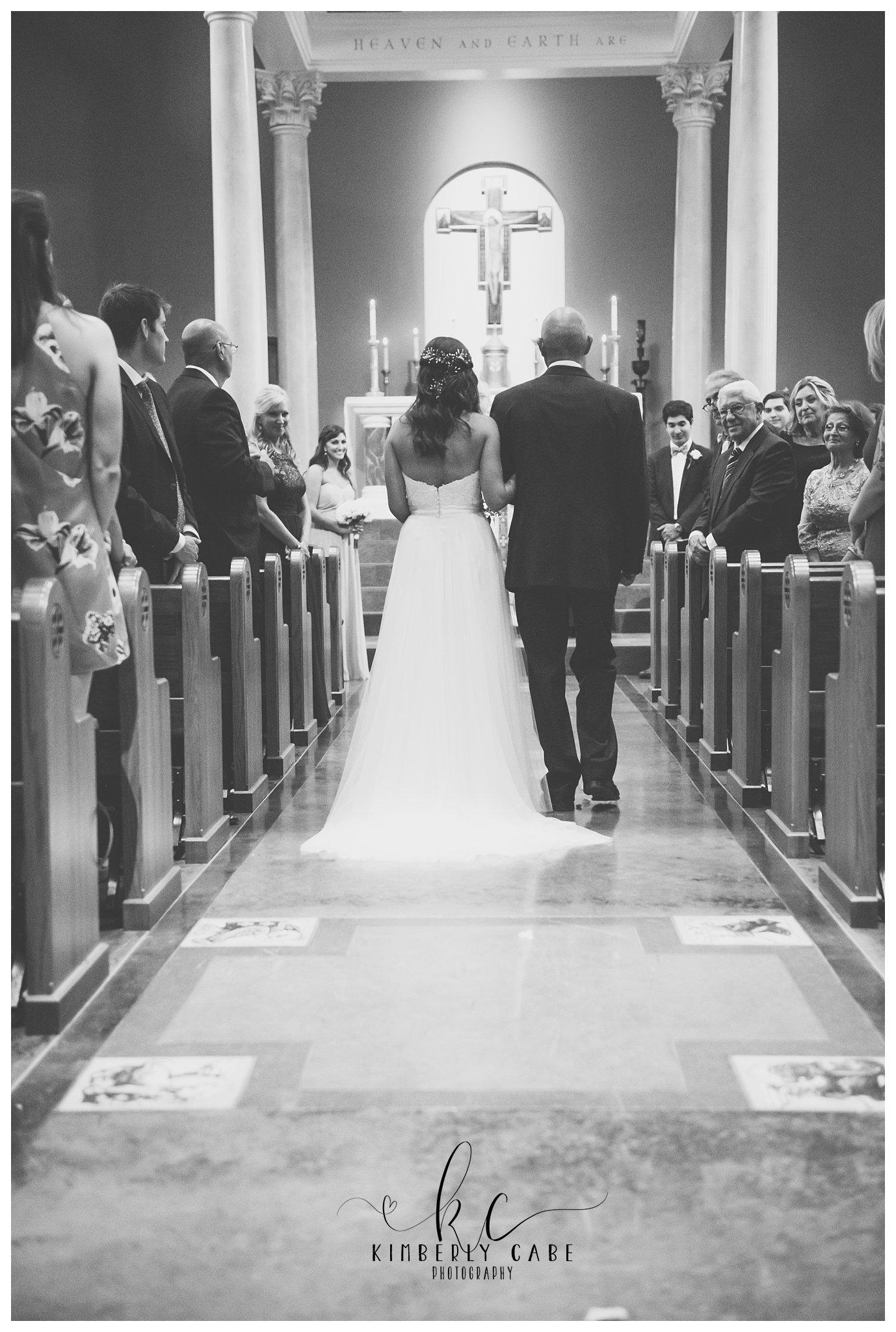 Greenville SC Catholic wedding