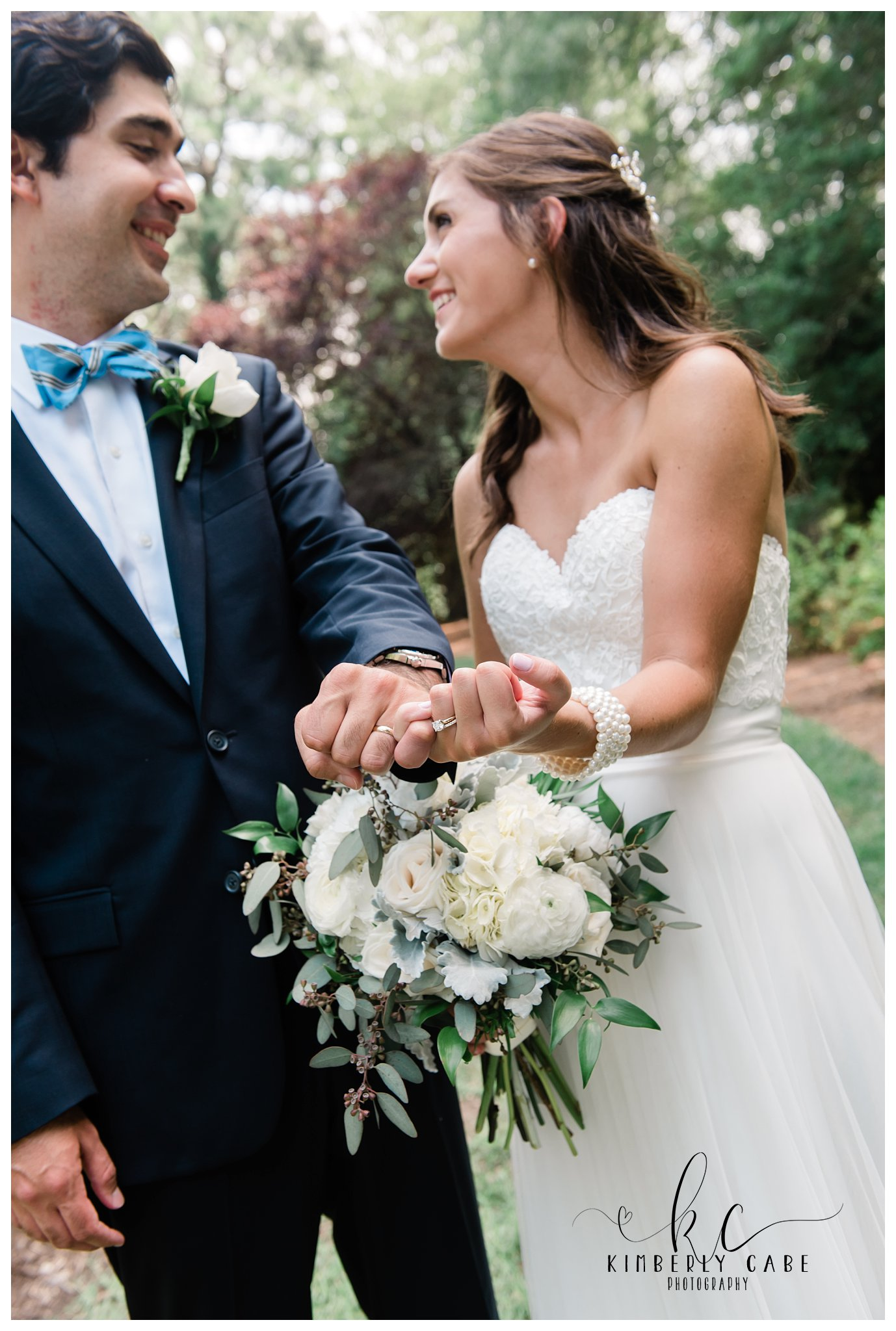 Bride and Groom Greenville SC