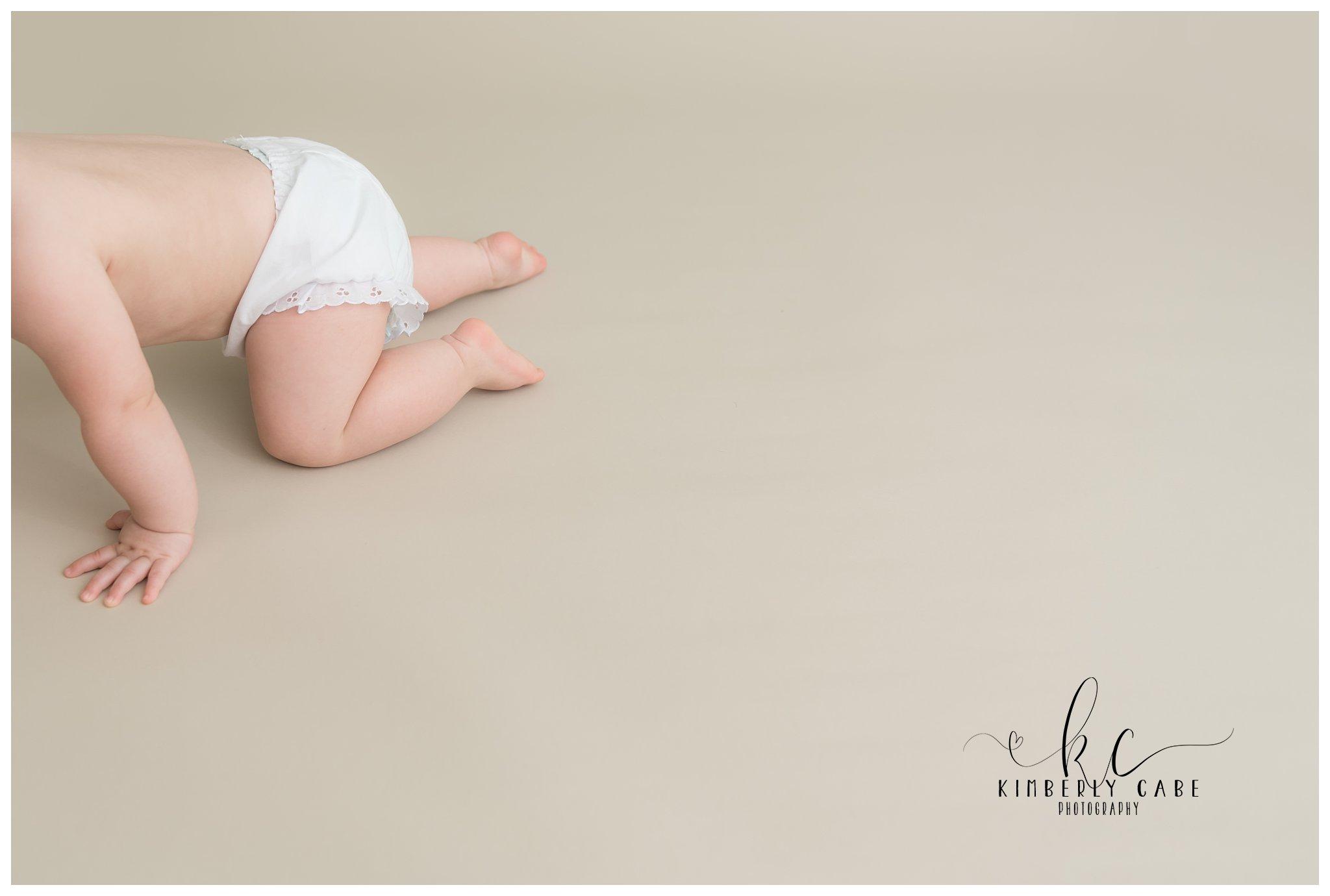 Greenville SC milestone baby session