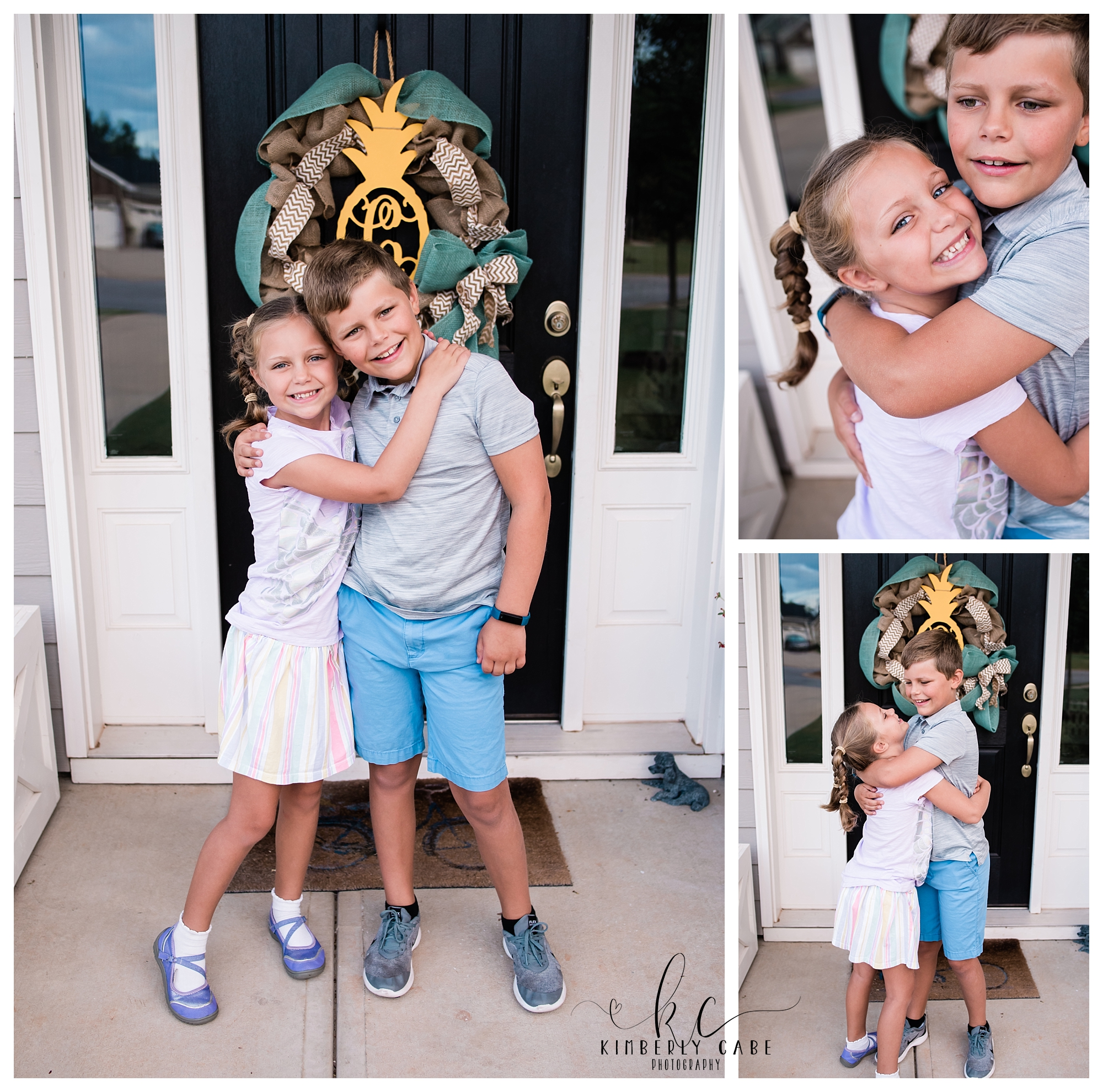 Kimberly Cabe Photography 1st Day of School