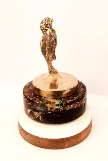 'Bronze Blue Tit' - £650