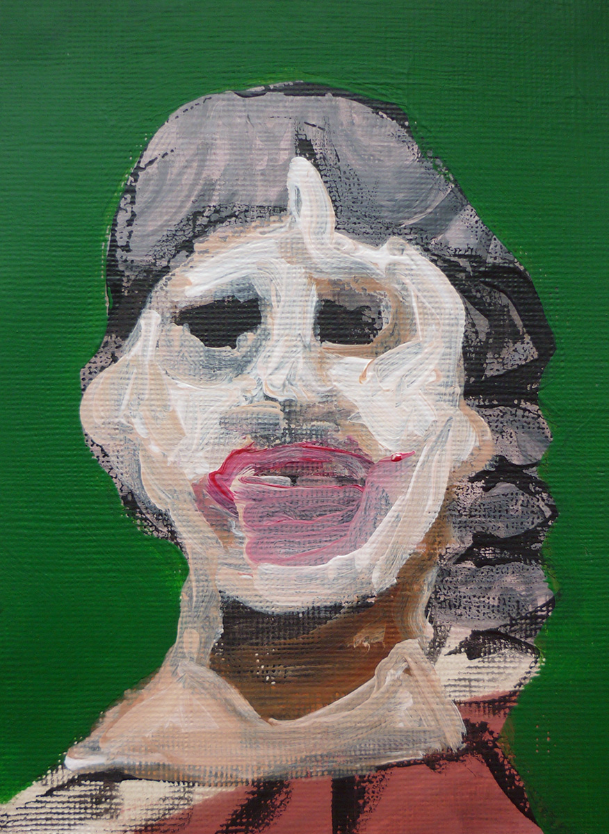 'Lady Face Green 02'