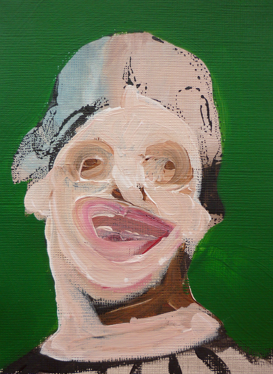 'Lady Face Green 05'