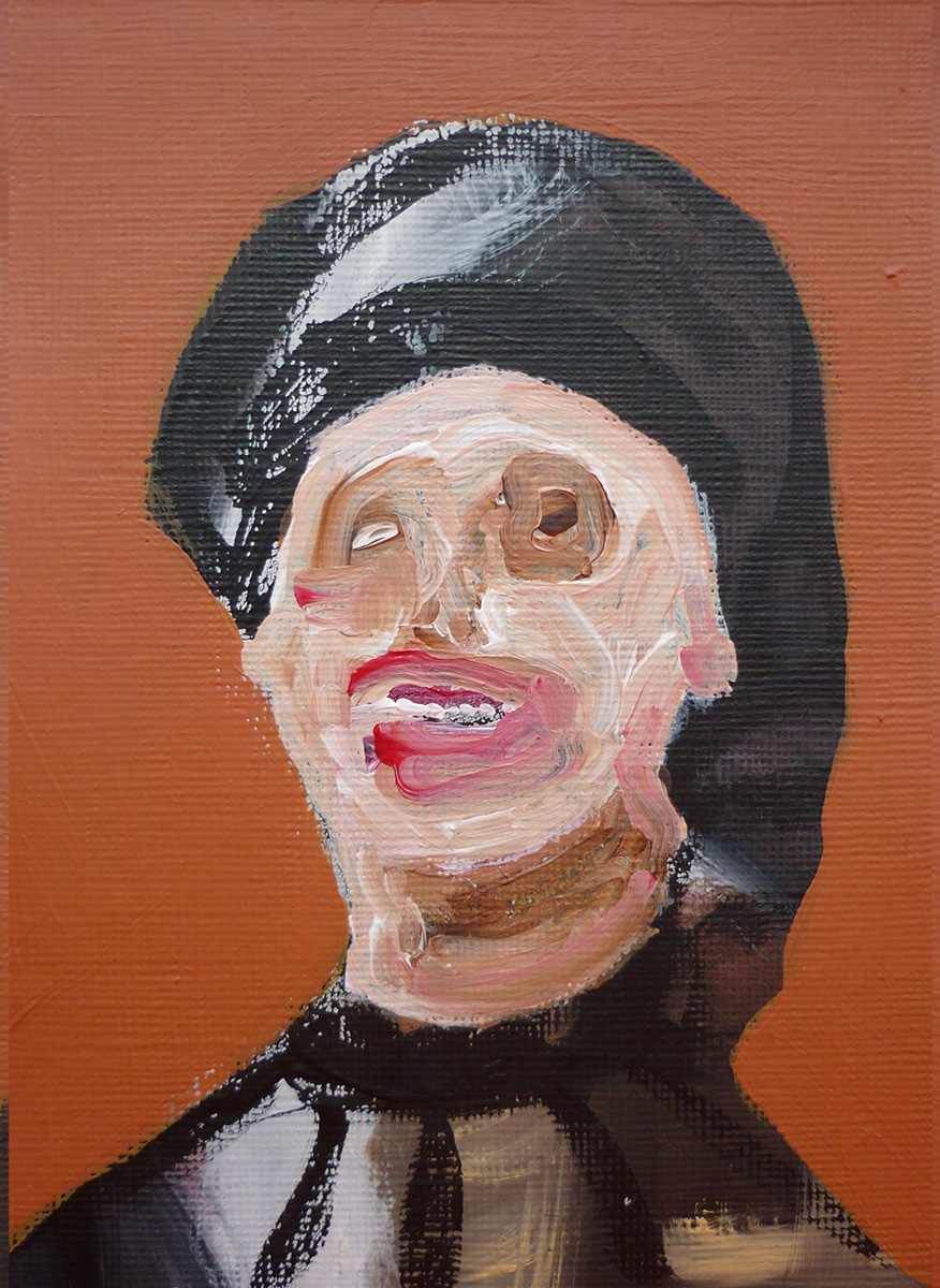 'Lady Face Ochre 06'