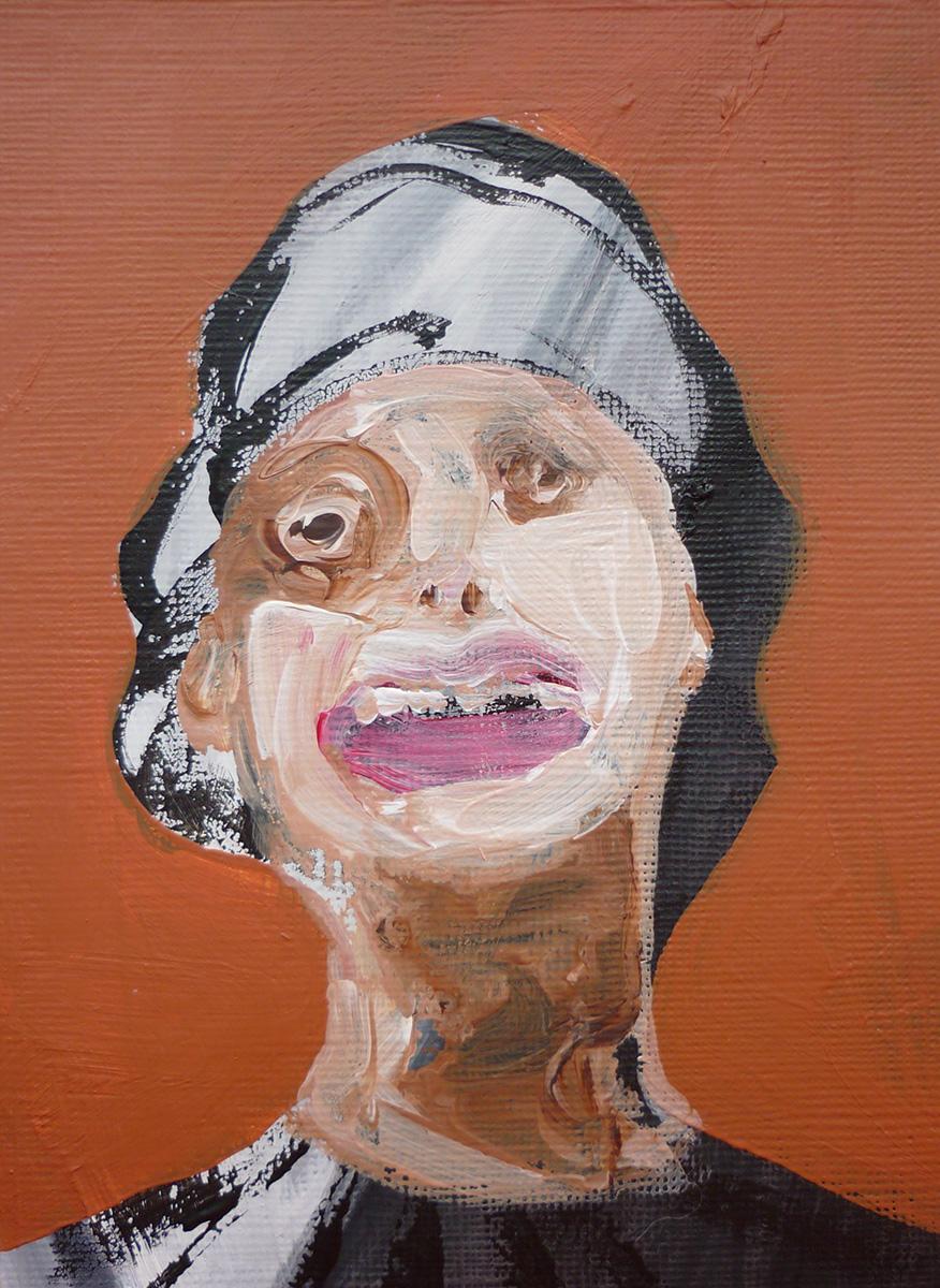 'Lady Face Ochre 09'
