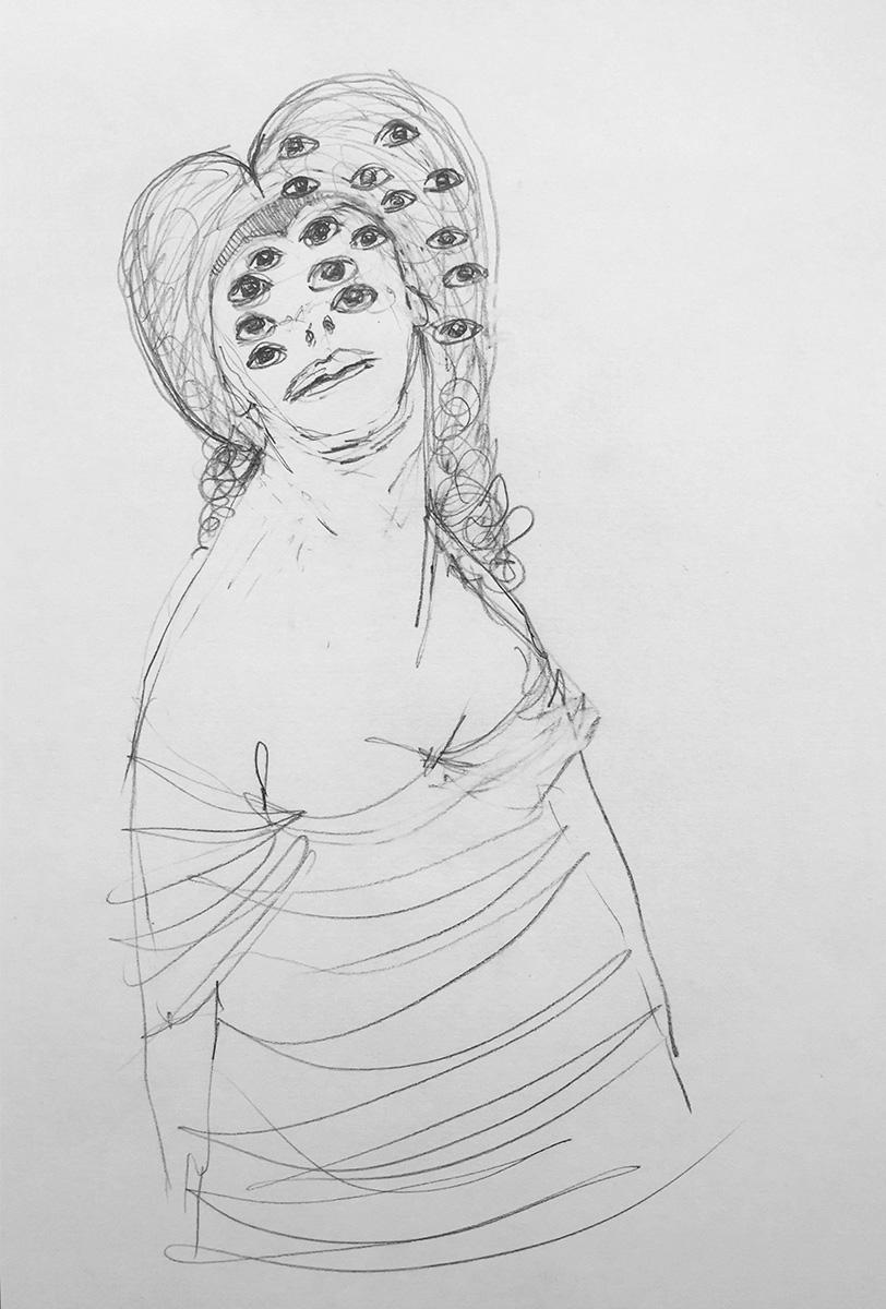 'Drawn Lady 01'