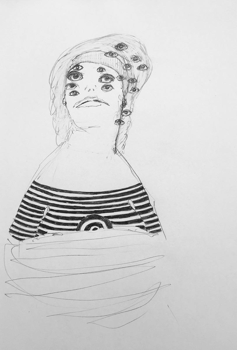 'Drawn Lady 03'