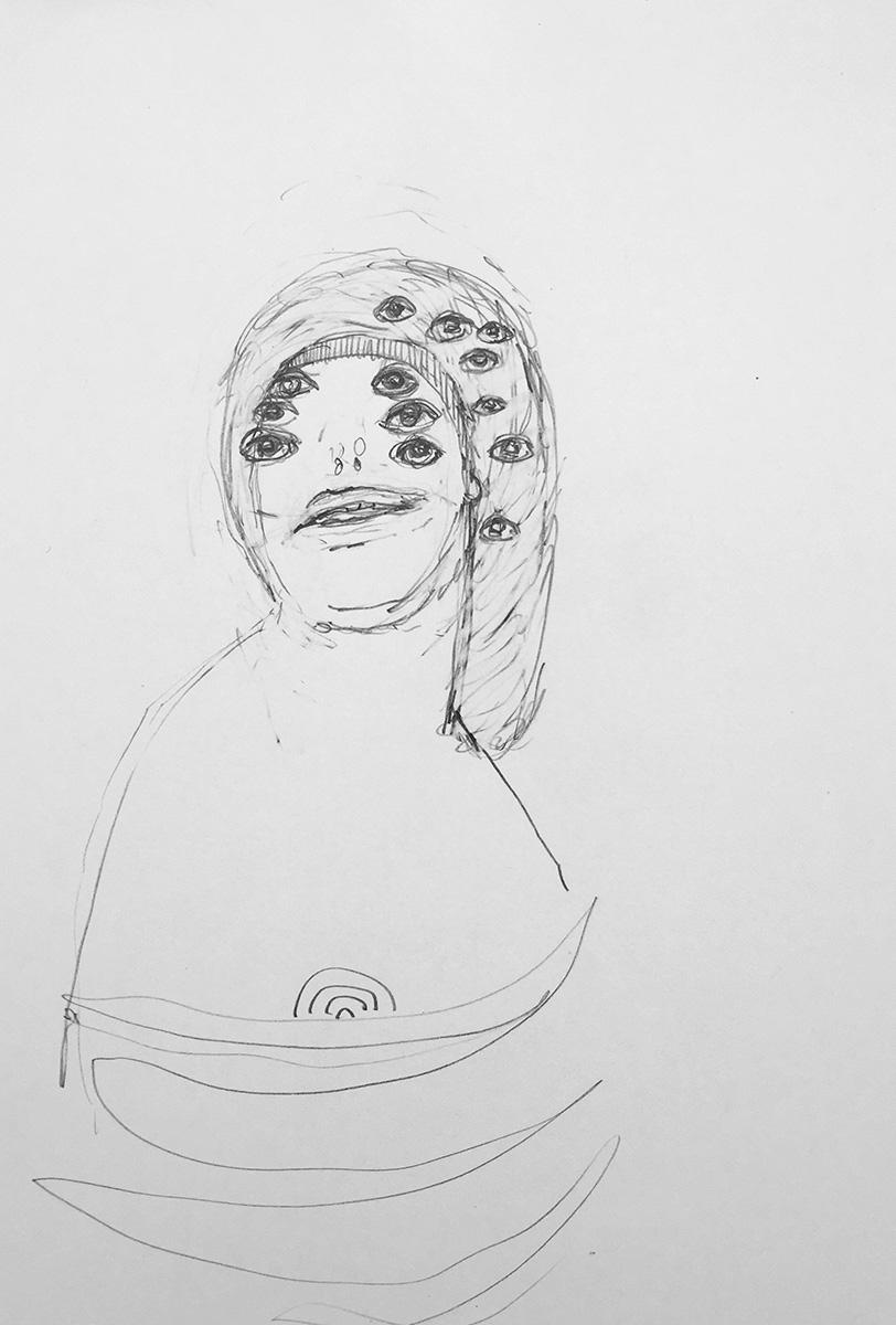 'Drawn Lady 04'
