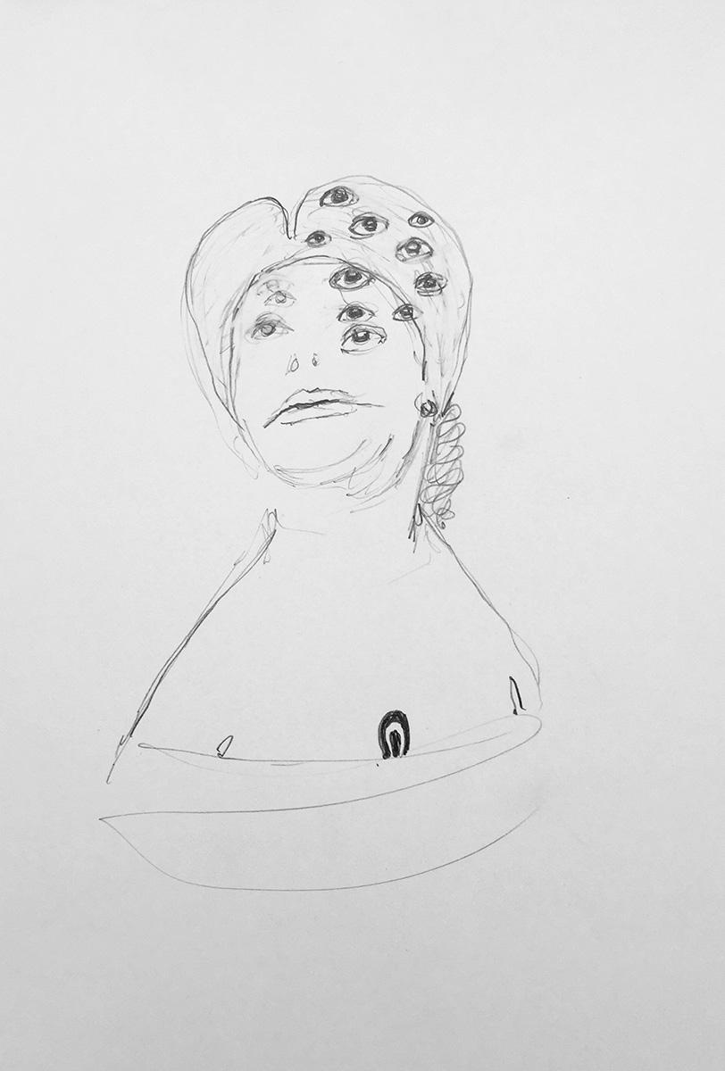 'Drawn Lady 05'