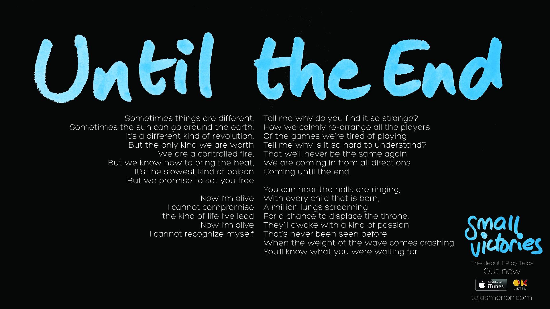 Lyrics - Until The End.jpg