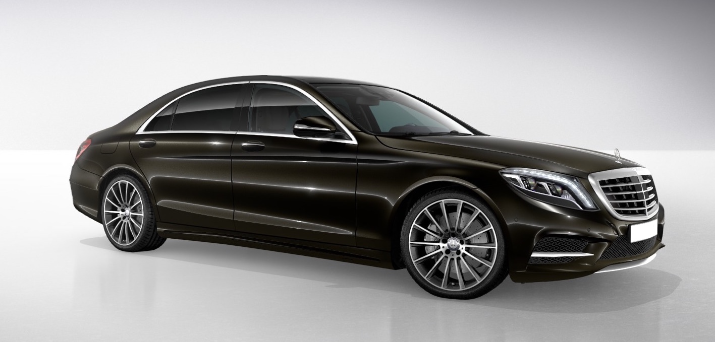 Mercedes-Benz S-Class LWB - Chauffeur-driven car hire - Cobham, Surrey