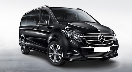 Mercedes-Benz V-Class (7 seater) - Chauffeur-driven car hire - Cobham, Surrey