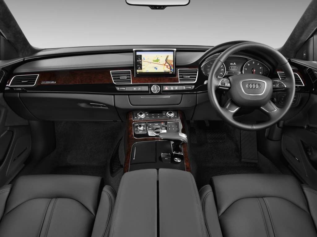 Luxury leather interior -