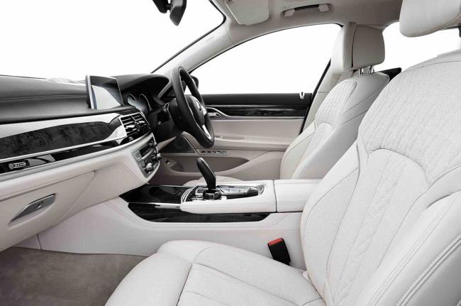 Luxury leather interior -