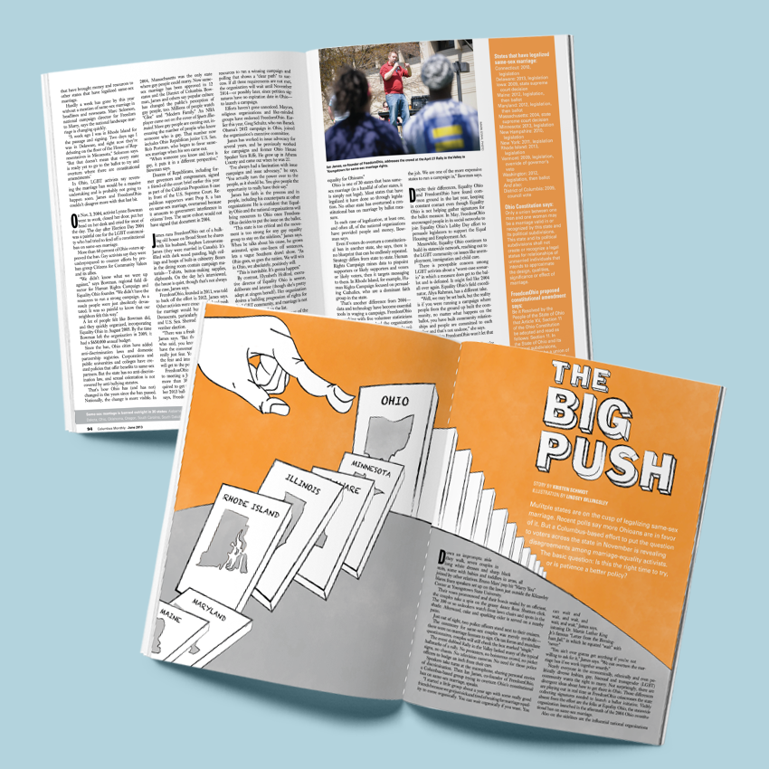 Columbus Monthly- Big Push