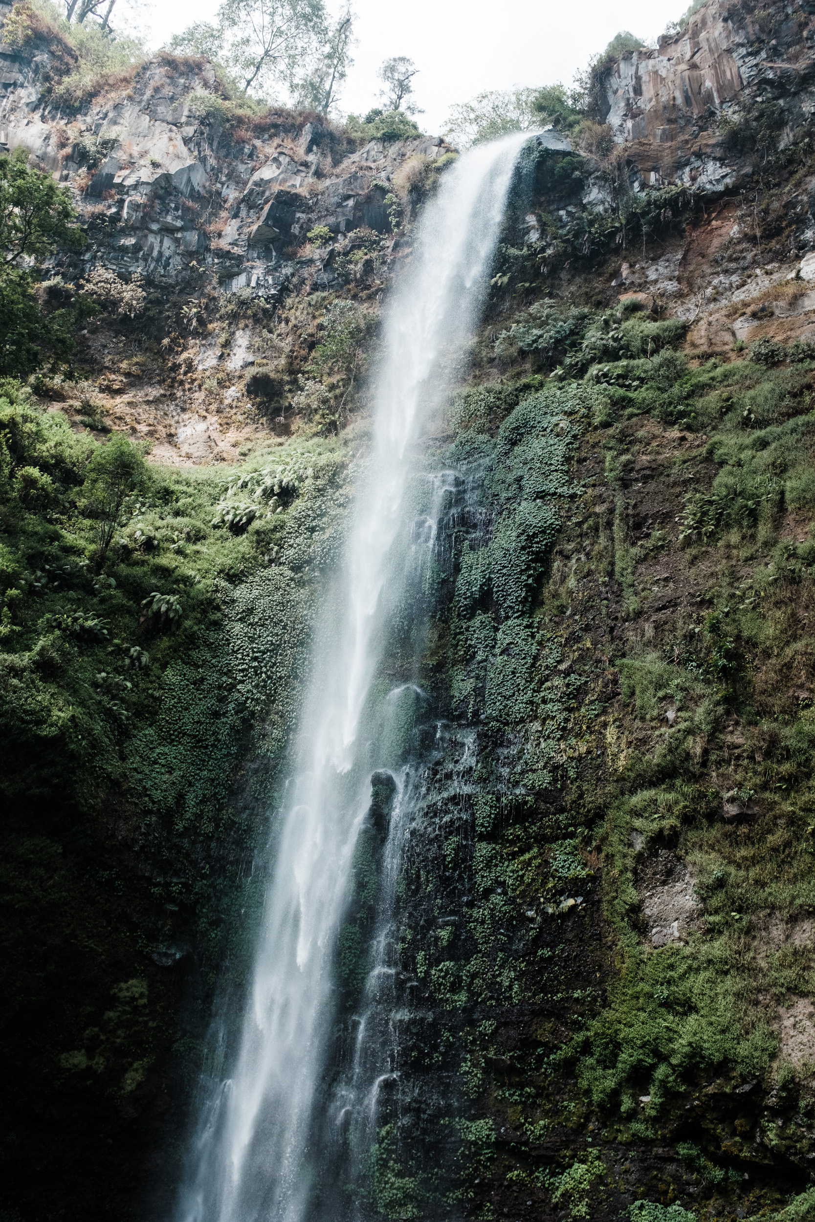 Wasserfall in Batu