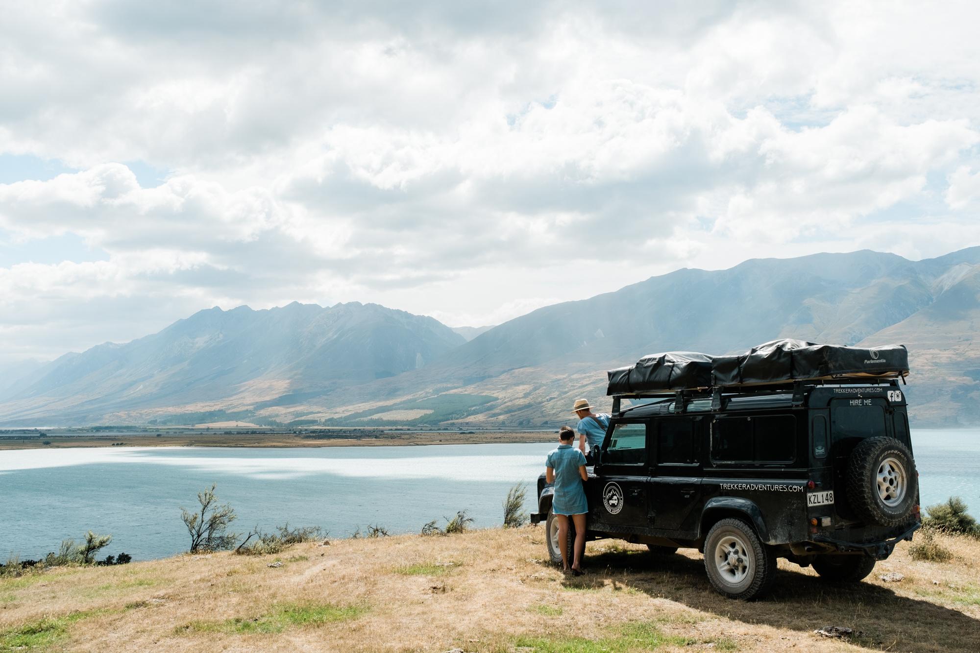 Tal auf der Südinseln in Neuseeland