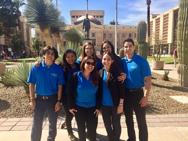 YOUTH AT THE FOSTERING ADVOCATES ARIZONA DAY