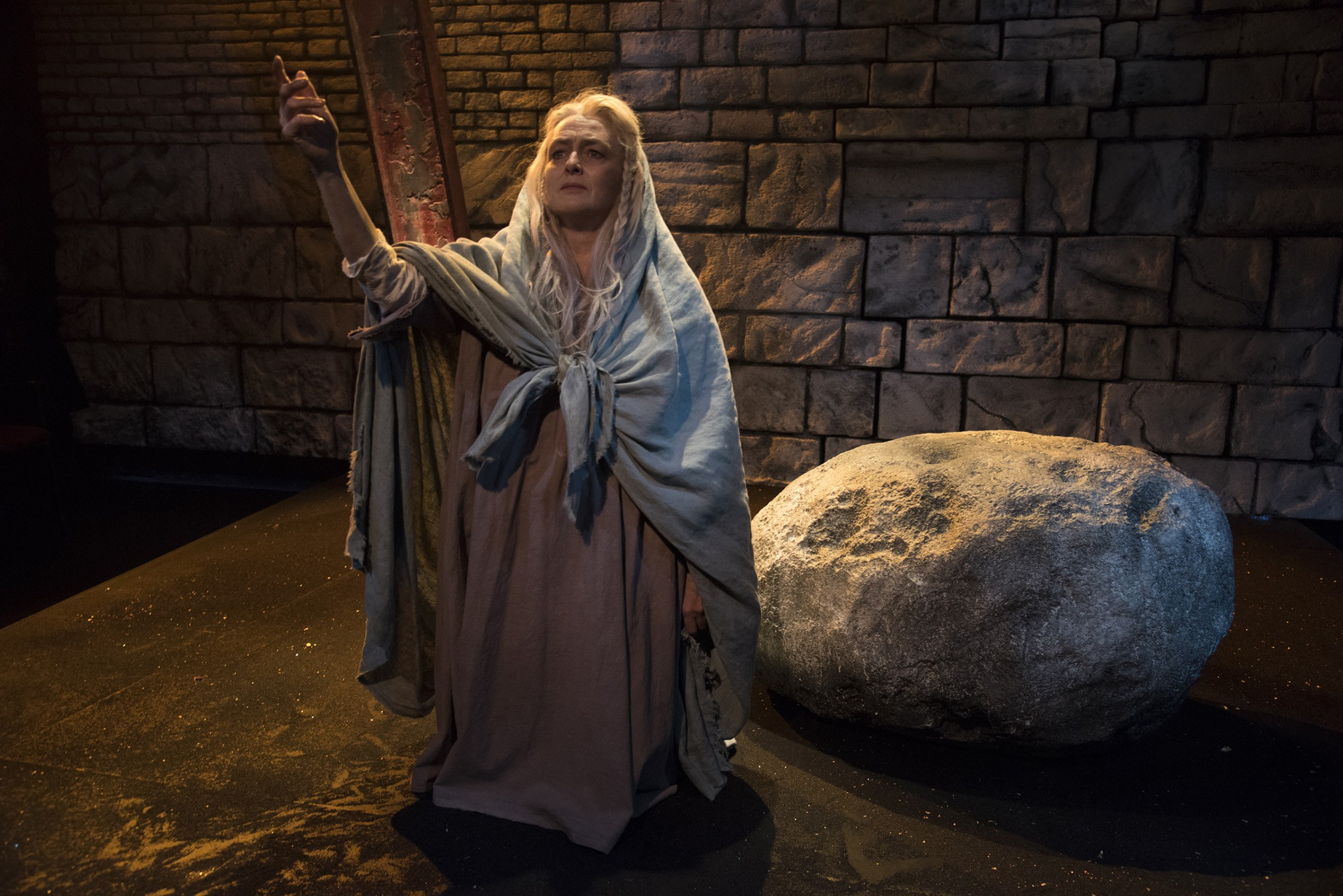 Testament of Mary - 2016  New Repertory Theatre - Watertown, MA