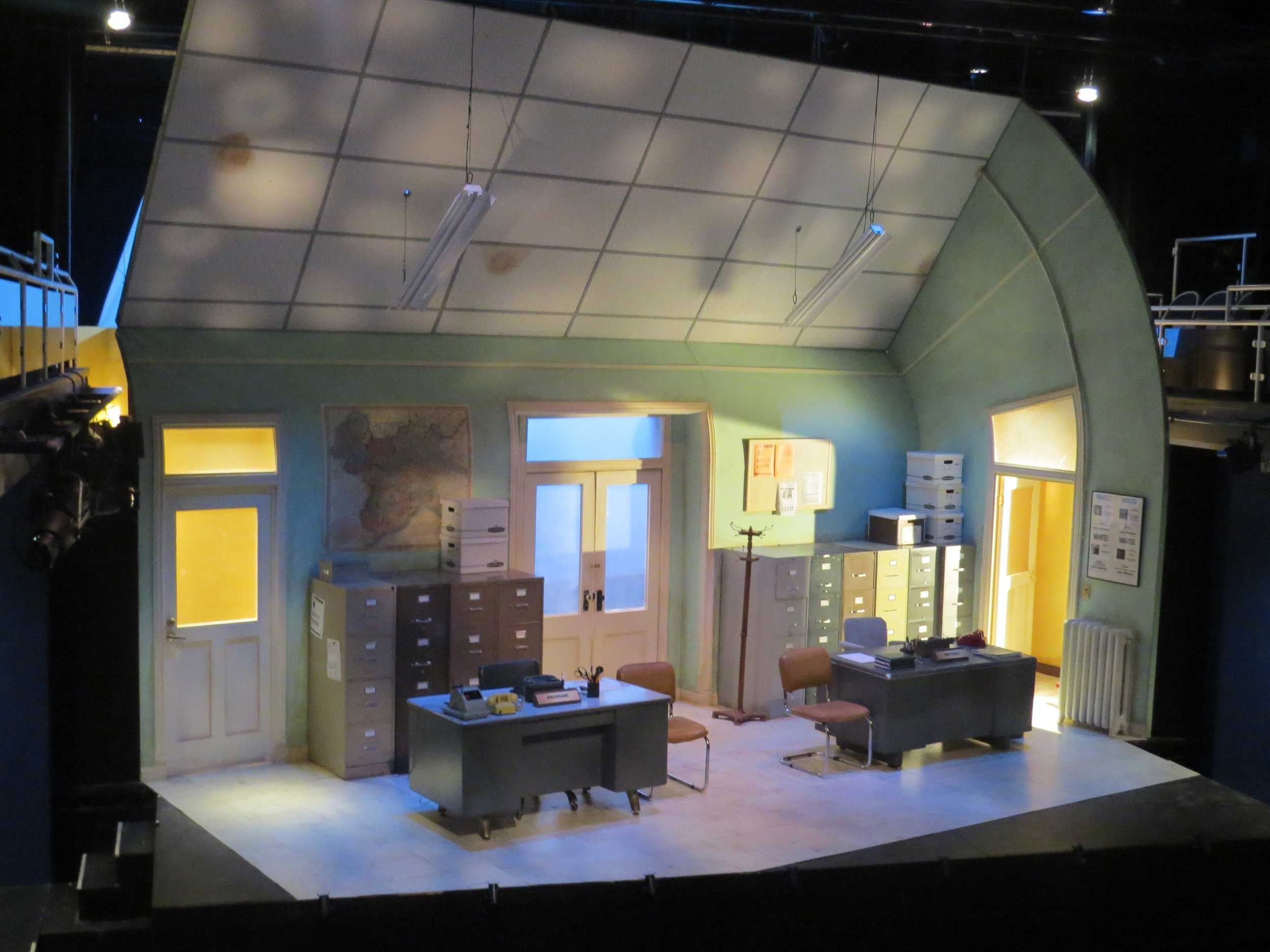 Accidental Death of an Anarchist - 2015  The Winnipesaukee Playhouse - Meredith, NH