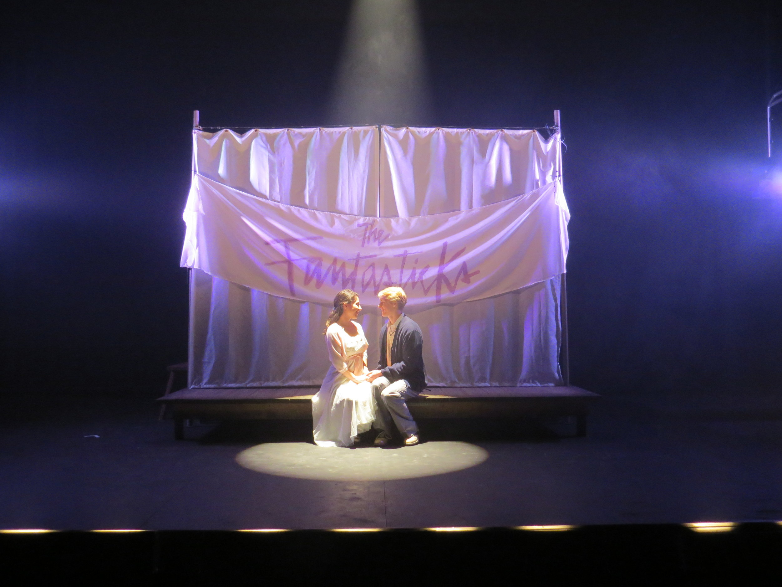The Fantasticks - 2013  The Winnipesaukee Playhouse - Meredith, NH