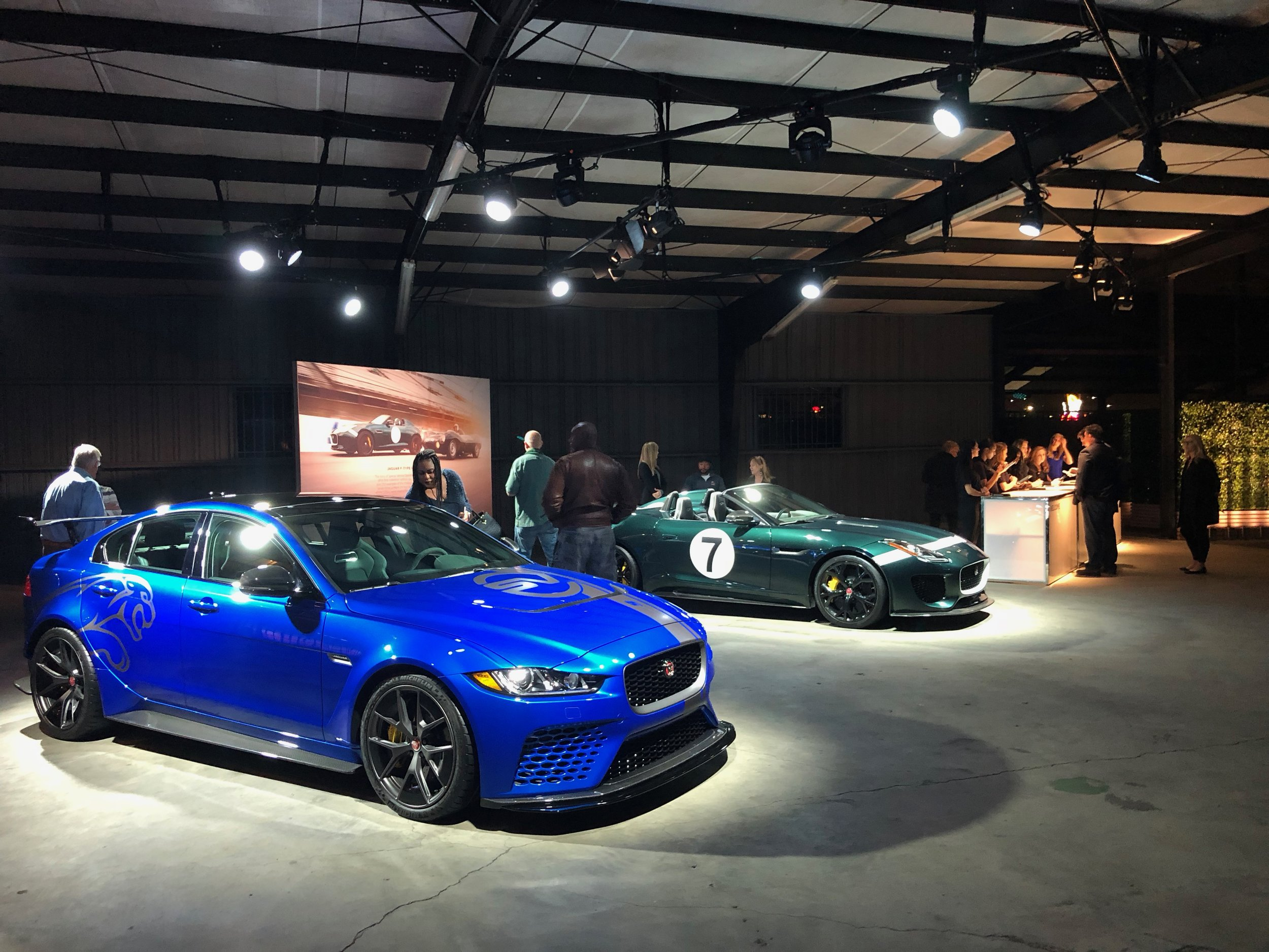 Jaguar / Land Rover SVO Product Launch Event  Imagination, Inc.  HD Buttercup - Los Angeles, CA  2017
